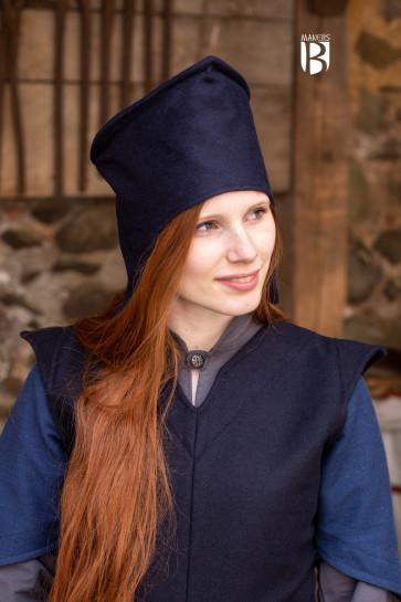 Magician's Chapeau Adis - Wool Blue