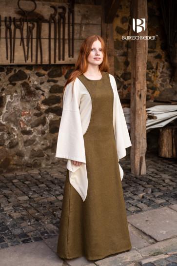 Surcot Albrun - Wool Autumn Green