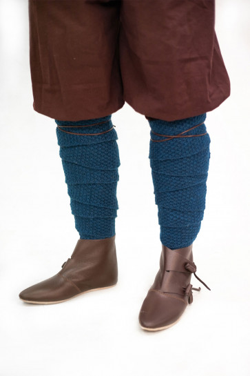 Knitted Wool Winingas Askil - Petrol