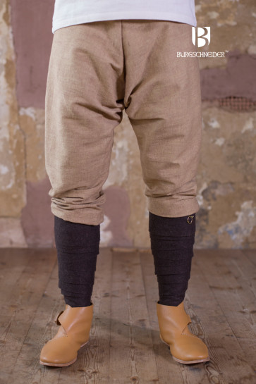 Sand-colored Thorsberg Pants Ragnar by Burgschneider