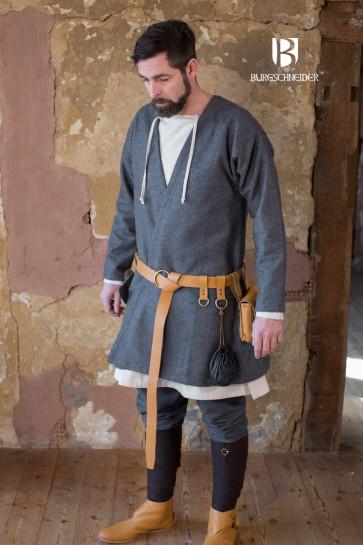 Dark Grey Viking Coat Loki by Burgschneider