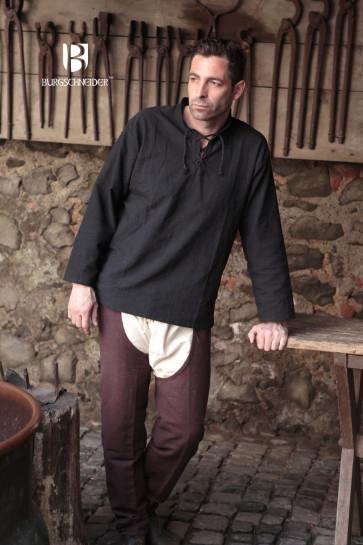 Laced medieval shirt Tristan by Burgschneider
