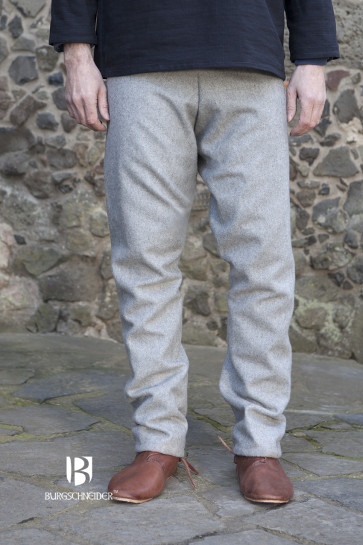 Front view of germanic trousers Fenris by Burgschneider