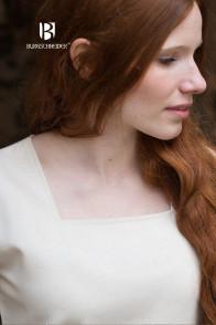 Trumpetsleeve Underdress Klara - Natural