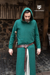 Hooded Tunic Renaud - Green