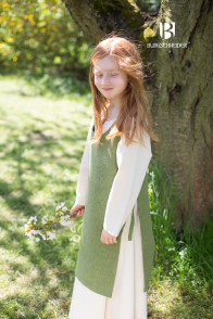 Children's Dress Ylva - Linden Green