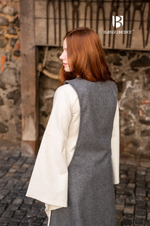 Surcot Albrun - Wool Grey