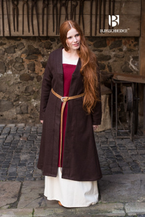 Birka Coat Aslaug - Wool Brown