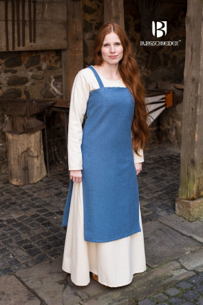 Colorful Overdress and Underdress for Viking Women