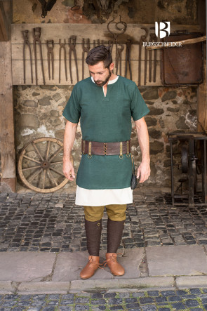 Green Viking Tunic Aegir by Burgschneider