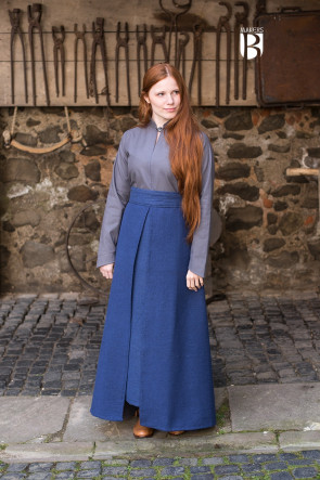 Apron Skirt Mera blue