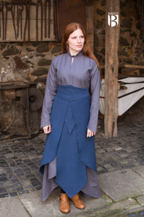 LARP Skirt Tharya blue suitable for fighting