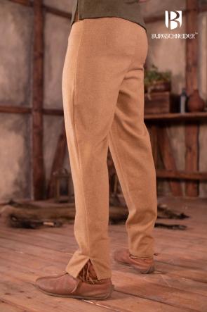 Skjoldehamn Pants Magnus - Wool Camel