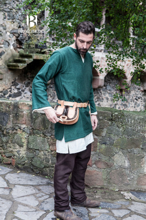 Short tunic Erik - Green