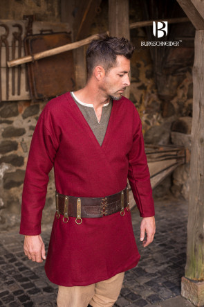 Viking Coat Loki - Red