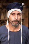 Wool Cap Hugo - Blue
