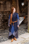 Tunic Meril - Wool Blue